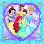 Puzzle  Ravensburger-10040 Disney Prinzessinnen: Hübsche Prinzessinen