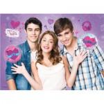 Puzzle  Ravensburger-10555 Violetta