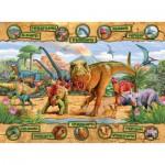 Puzzle  Ravensburger-10609 Dinosaurier