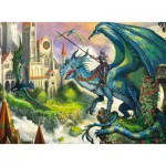 Puzzle  Ravensburger-10876 Drachenreiter