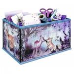 Ravensburger-12084 3D Puzzle - Girly Girls Edition - Aufbewahrungsbox Animal Trend