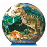 Ravensburger-12127 Puzzleball: Dinosaurier
