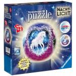 Ravensburger-12149 Nachtlicht-Puzzleball - Einhörner