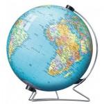 Ravensburger-12427 Puzzleball - Globus auf Englisch