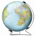 Ravensburger-12435 3D Puzzle - Globus in deutscher Sprache