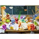 Puzzle  Ravensburger-13211 XXL Teile - Gelini: Spaß im Klassenzimmer