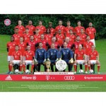 Puzzle  Ravensburger-13213 XXL Teile - FC Bayern München Saison 2016/17