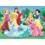 Puzzle  Ravensburger-13666 Leuchtende Disney Prinzessinnen