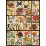 Puzzle  Ravensburger-14126 Klassische Pflanzenwelt