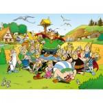 Puzzle  Ravensburger-14197 Asterix und Obelix: Asterix im Dorf