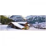 Puzzle  Ravensburger-14463 Landhaus in den Alpen