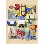 Puzzle  Ravensburger-14641 Sommer in Italien