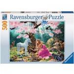 Puzzle  Ravensburger-14642 Zauberhafte Begegnung