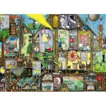 Puzzle  Ravensburger-14731 Colin Thompson: Tomorrow's World