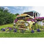 Puzzle  Ravensburger-14885 XXL Teile - Blumen-Truck