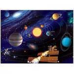 Ravensburger-14926 Puzzle 500 Teile fluoreszierend - Star Line: Das Sonnensystem