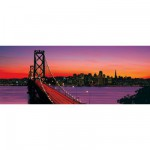 Ravensburger-15104 1000 Teile Panoramapuzzle - Oakland Bay Bridge, San Francisco