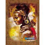 Puzzle  Ravensburger-15352 Junge Afrikanerin