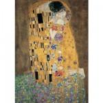 Puzzle  Ravensburger-15743 Klimt: Der Kuss