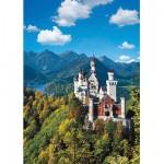 Puzzle  Ravensburger-15755 Neuschwanstein im Herbst