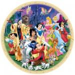 Puzzle  Ravensburger-15784 Disneys wunderbare Welt