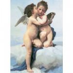 Puzzle  Ravensburger-16228 William Bouguereau: Amor und Psyche