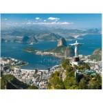 Puzzle  Ravensburger-16317 Blick auf Rio