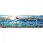 Puzzle  Ravensburger-16696 Lebendiger Ozean