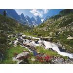 Puzzle  Ravensburger-17029 Sellrainer Berge, Tirol, Österreich