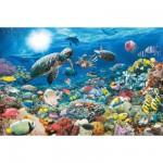 Puzzle  Ravensburger-17426 Leben im Korallenriff