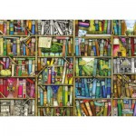 Puzzle  Ravensburger-19137 Colin Thompson: Magisches Bücherregal
