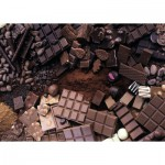 Puzzle  Ravensburger-19614 Schokoladiges Paradies