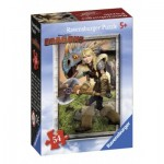 Ravensburger-72614-09436-2 Mini Puzzle - Dragons