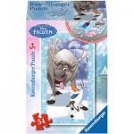 Ravensburger-73055-09455-05 Minipuzzle: Frozen - Die Eiskönigin