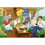 Puzzle  Schmidt-Spiele-56047 Bibi und Tina: Geburtstagsüberraschung