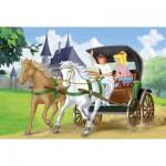 Puzzle  Schmidt-Spiele-56051 Bibi und Tina: Auf Kutschfahrt
