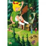 Puzzle  Schmidt-Spiele-56079 Bibi und Tina: Hoch über Manias Haus