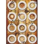 Puzzle  Schmidt-Spiele-58277 Kaffee-Kunstwerke