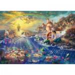 Puzzle  Schmidt-Spiele-59479 Thomas Kinkade - Kleine Meerjungfrau