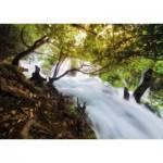 Puzzle  Tactic-40901 Wasserfall im Wald
