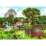 Puzzle  The-House-of-Puzzles-1639 XXL Teile - Strolling Along