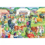 Puzzle  The-House-of-Puzzles-2735 XXL Teile - County Show