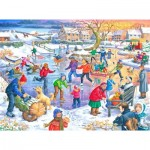 Puzzle  The-House-of-Puzzles-3091 XXL Teile - Ice Skating