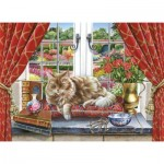 Puzzle  The-House-of-Puzzles-3435 XXL Teile - King Of The Castle