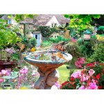 Puzzle  The-House-of-Puzzles-3763 Summer Birds