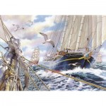Puzzle  The-House-of-Puzzles-3923 XXL Teile - Steady As She Goes