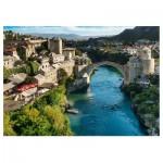 Puzzle  Trefl-10383 Mostar, Bosnien und Herzegowina