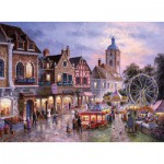 Puzzle  Trefl-33033 Kirmes