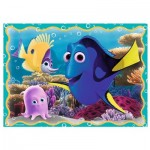 Trefl-34259 4 Puzzles - Nemo & Dorie