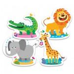 Trefl-36054 My First Puzzles - Tiere der Savanne